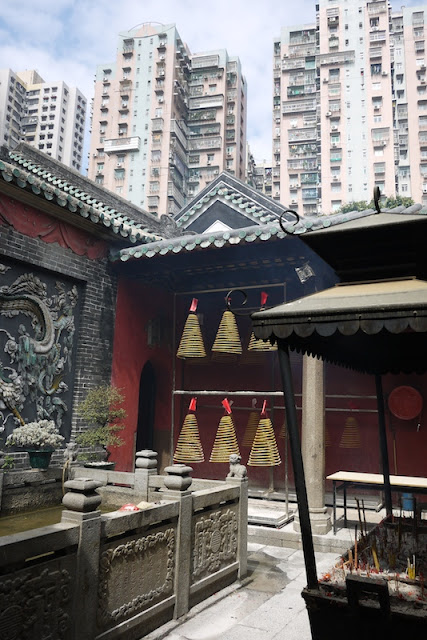 Inside Lin Fung Temple in Macau