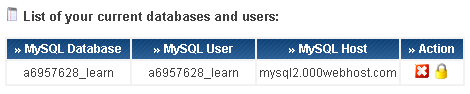 000webhost database