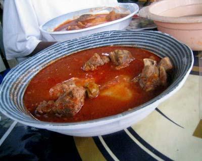 Obe Ata pipirų sriuba iš Nigerijos