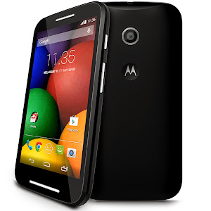 Motorola Moto E in black