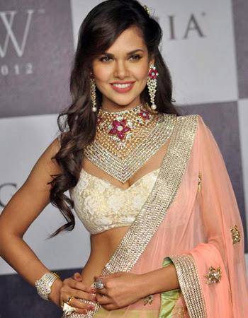 Esha Gupta Hot Bikini Pictures