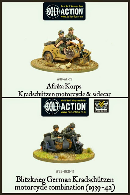 Motos con sidecar Alemanas Bolt Action
