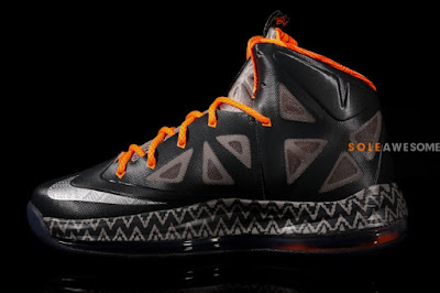 nike lebron 10 gs black history month 1 04 Introducing the Nike LeBron X Black History Month in Kids Sizes