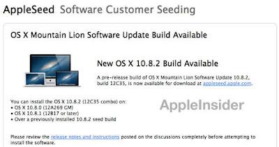 La nueva beta de la versión 10.8.2 ya incluye la integración con Facebook