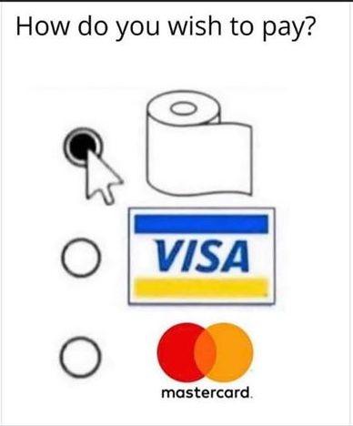 toilet paper meme (coronavirus)