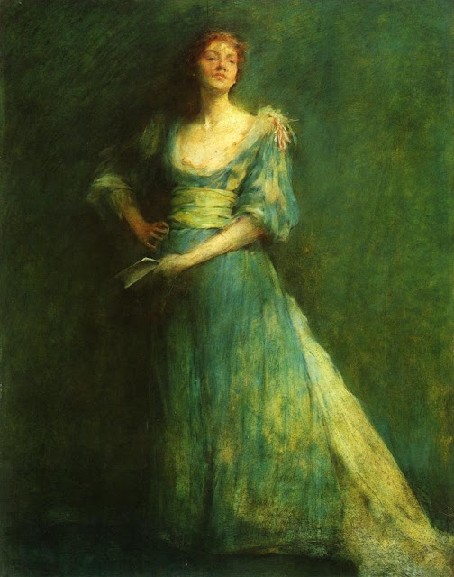 Thomas Dewing - Comedia