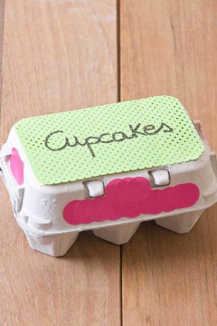 caja para mini cupcakes