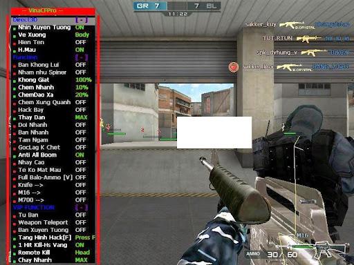Screenshot [VinaCF Pro 1162] Fix Khoá Acc