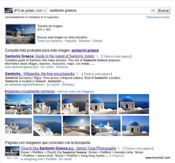 Busqueda de Google Imagenes