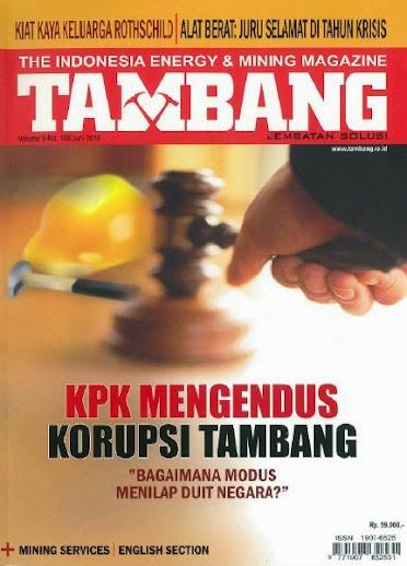 Majalah Tambang Edisi Jun 2014
