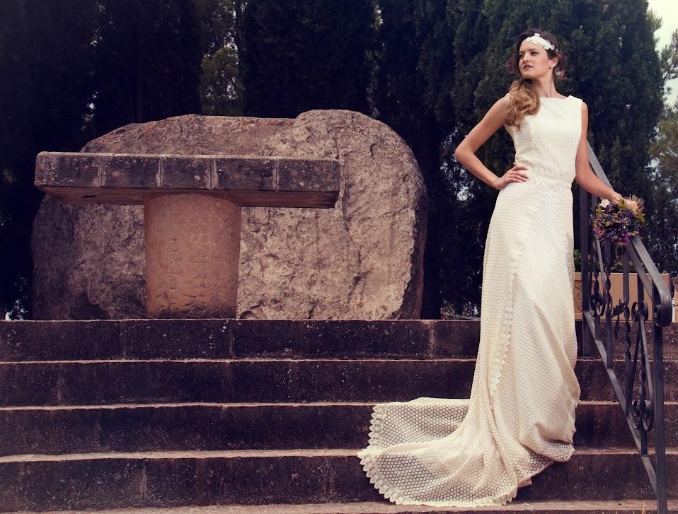 Vestido de Novia para una boda en otoño