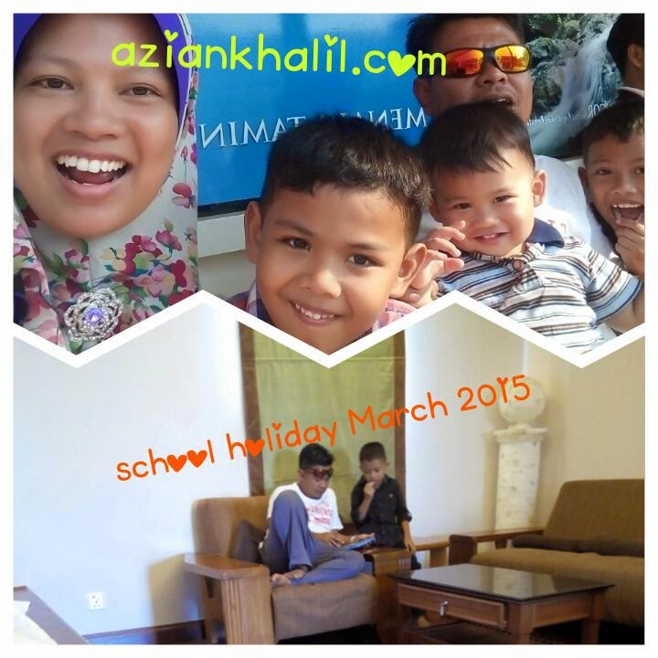 School holiday March 2015