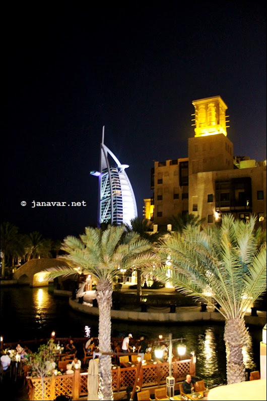 Reisen: Dubai by night