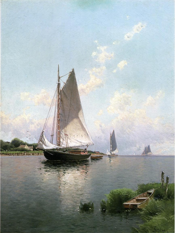 Alfred Thompson Bricher - Blue Point, Long Island, 1888