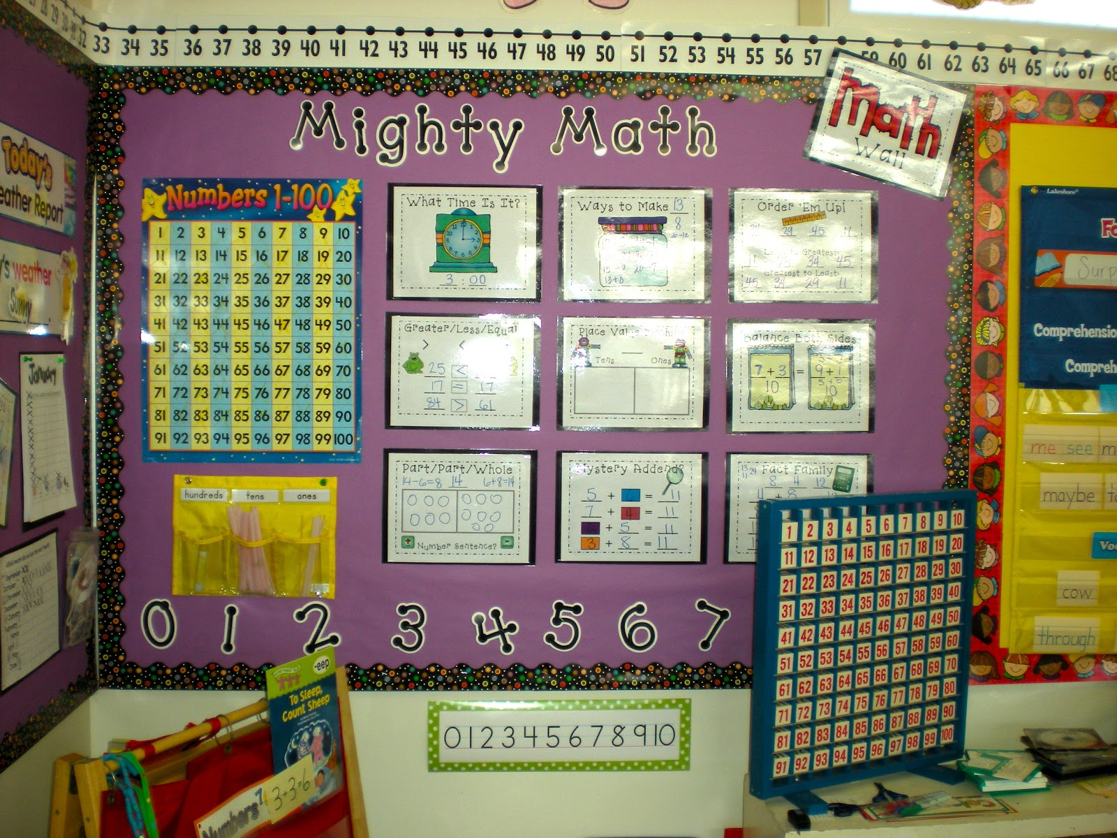 Math Classroom Wall Decorations ~ Teacher bits and bobs math wall cards