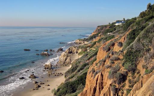 Matador State Beach.  Walkabout Malibu to Mexico: Hiking Inn to Inn on the Southern California Coast