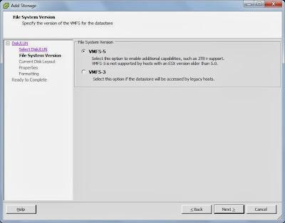 Añadir datastore a servidor VMware ESXi de SAN NetApp por iSCSI
