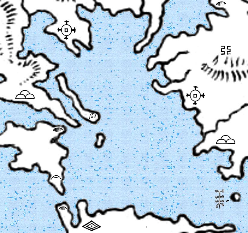 Telecanters Receding Rules World Map II - I need a world map