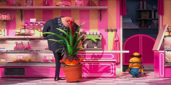 Screen Shot Of Hollywood Movie Despicable Me 2 (2013) Download And Watch Online Free at alldownloads4u.com