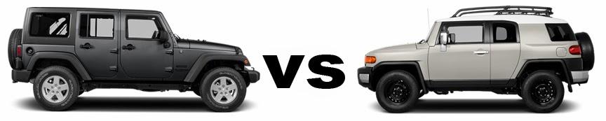 High Quality Philadelphia: 2014 Jeep Wrangler Unlimited Vs. 2014 Toyota FJ Cruiser