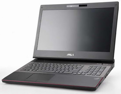 Asus ROG G74SX 3D gaming laptop images