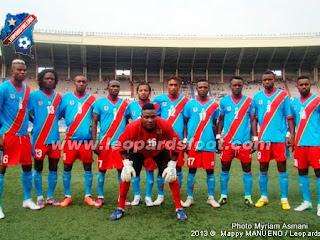 Les Léopards de la RDC, en match aller contre les Diables rouges du Congo-Brazzaville dimanche 7 juillet à Kinshasa au stade des Martyrs/ Ph Leopardsfoot.com