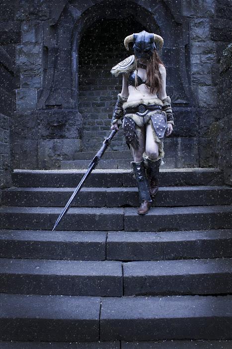 Laura Jansen và bộ ảnh cosplay Skyrim cực chất - Ảnh 6