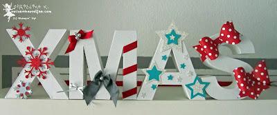 stampin up christmas xmas weihnachten snow flakes ribbons stars designerschleifen bows