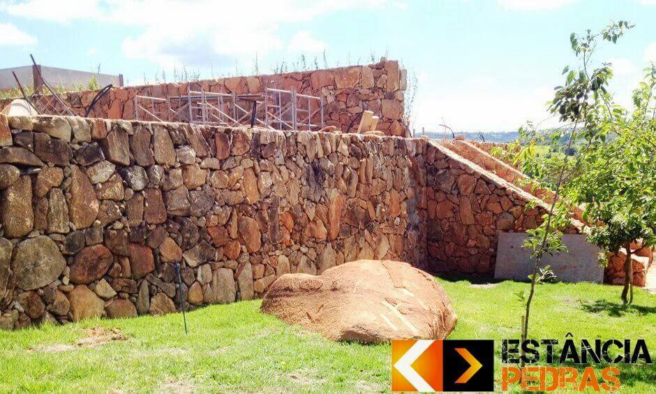 Muro de Arrimo em Valentim Gentil