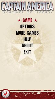Baixar jogo para celular Captain America Sentinel of Liberty para Celular