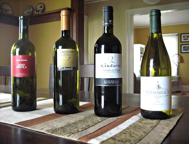 Wines of Puglia, Calabria, Basilicata, and Sicilia