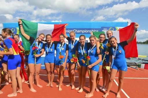 L'Italia al mondiale junior vince 2 medaglie d'oro, 3 d'argento e 1 di bronzo