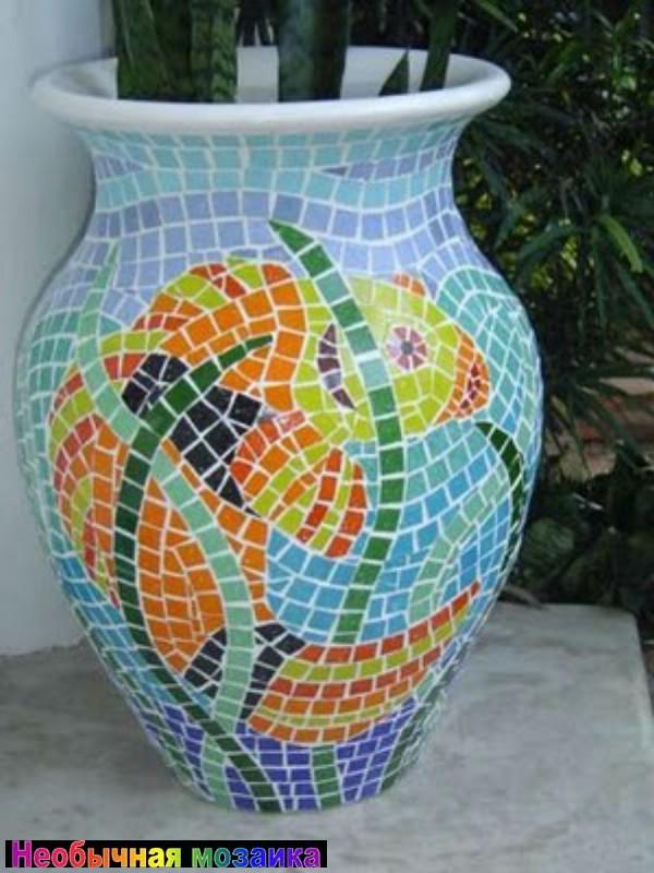 Мастер класс мозаика из дисков 163