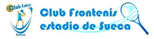 Club Frontenis estadio de Sueca