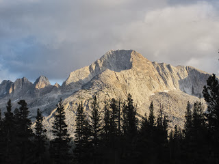 Shepherd's Crest at Sunset. Despite the ominous clouds, it never did rain. ©http://backpackthesierra.com