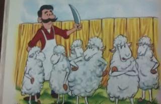 El carnicero y los carneros