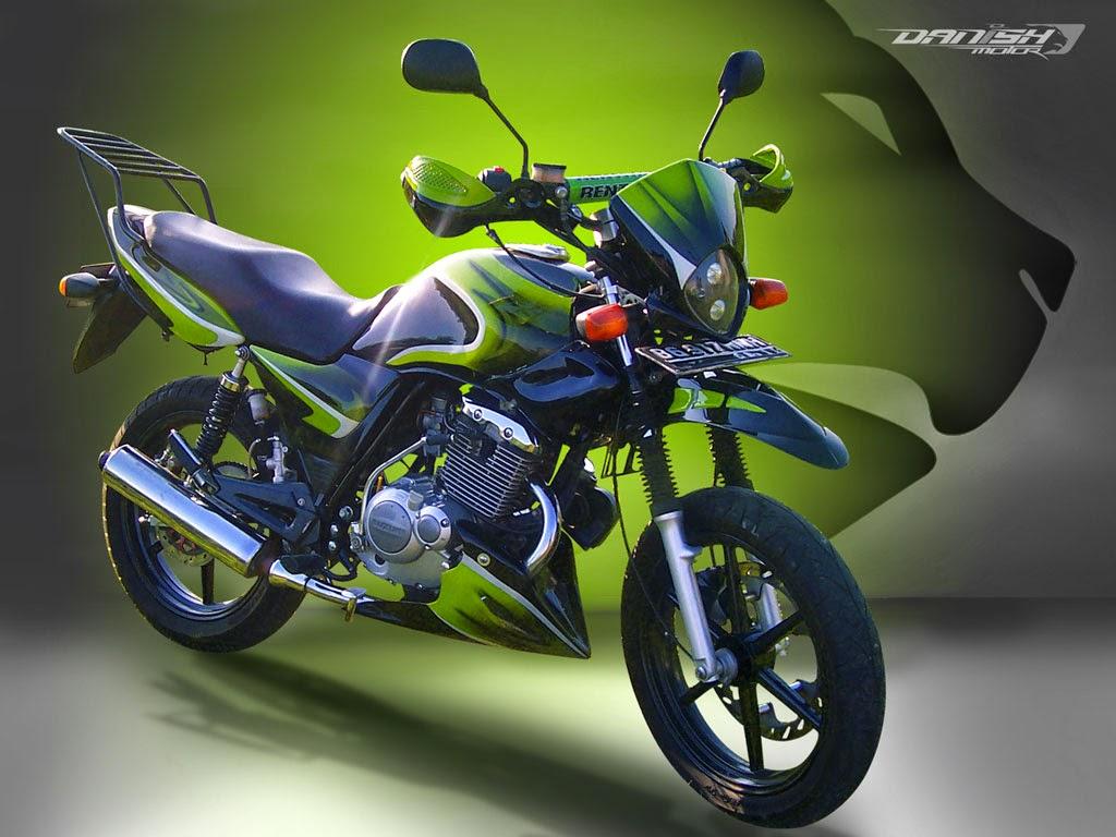 Thunder 125 Modifikasi Ninja 250