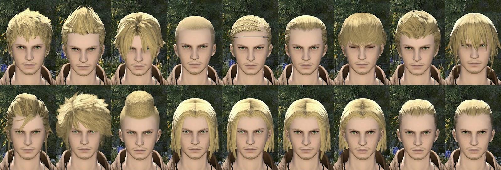 Hyur Male Hair