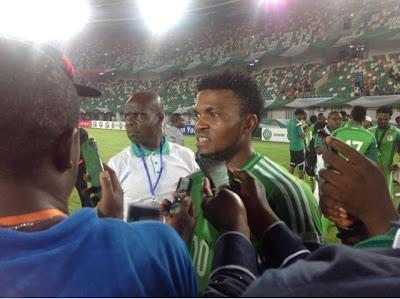 Nigeria football news, latest. Nigerian football news, Pinnick Orders Eduok Out Of Eagles Camp
