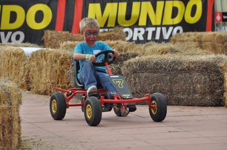 karts de pedales de Berg Toys fuertes para circuitos