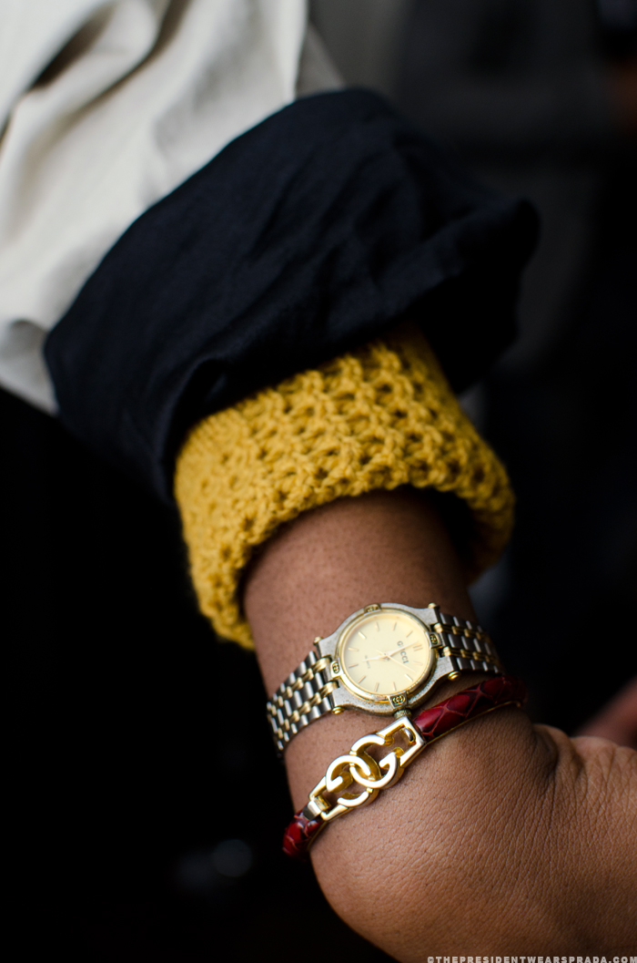 Kimee Brown accessories detail