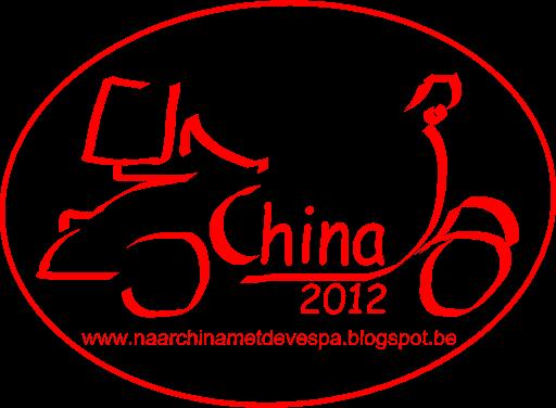 Met de Vespa naar China