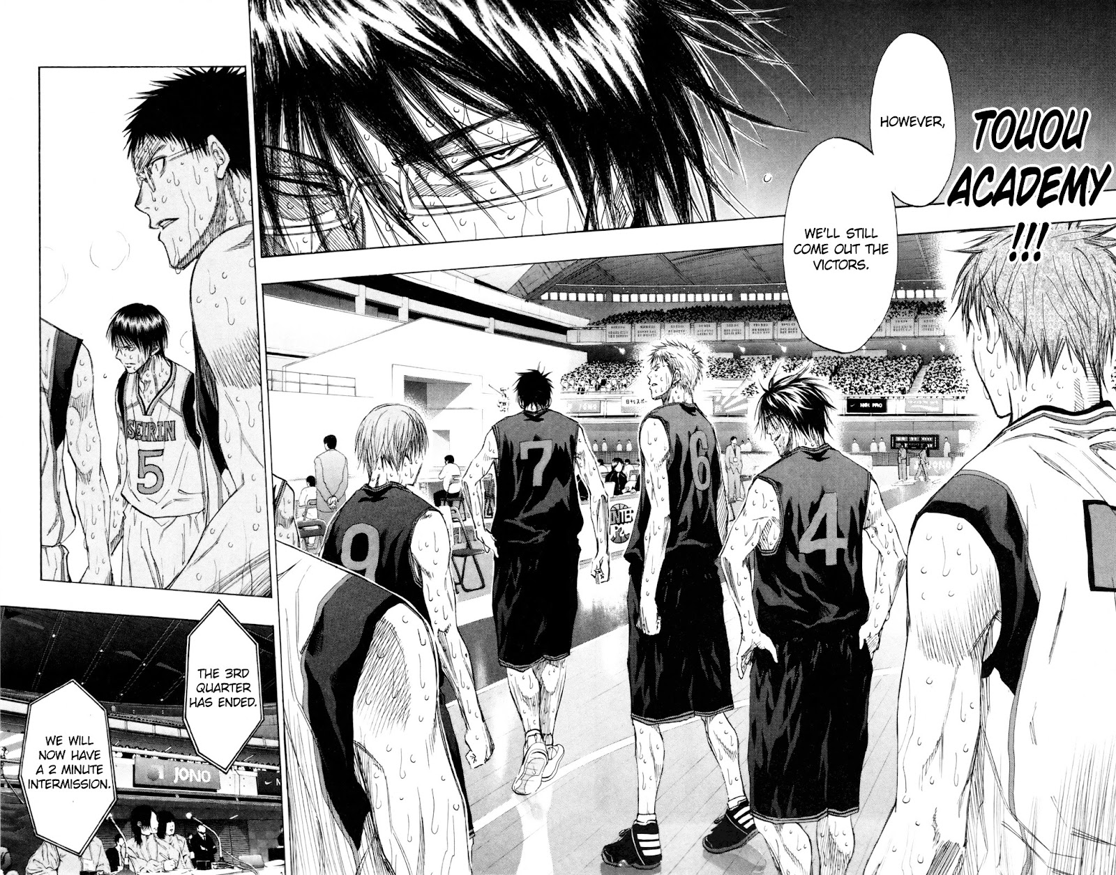 Kuroko no Basket Manga Chapter 130 - Image 06-06