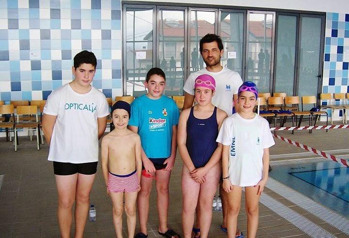 Jovens nadadores de Lamego entram em ambiente competitivo