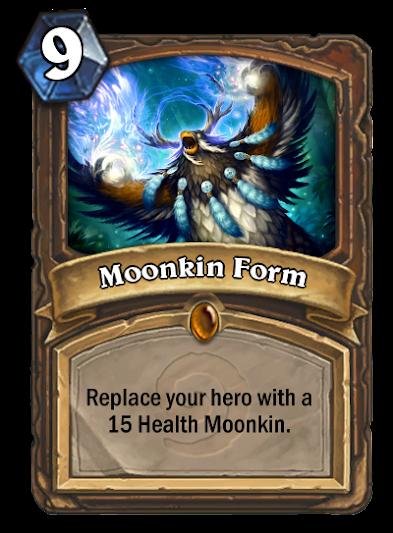 Druid Hero Moonkin Form - Fan Creations - Hearthstone General ...