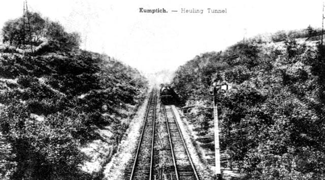 Figuur 16: De Heuling op de plants van de vroegere Tunnel.