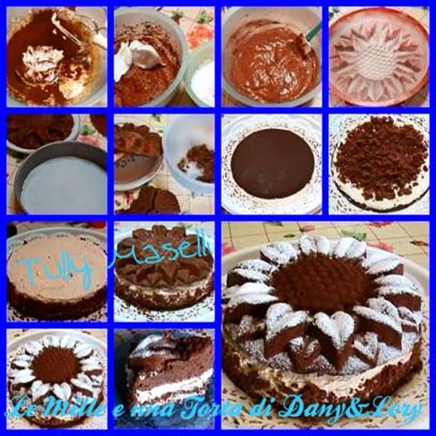 torta al caffe' farcita con crema di luca montersino