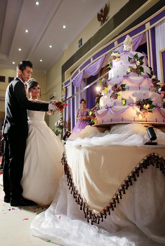 foto pernikahan di graha waris surakarta