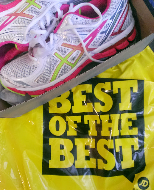 IMG 20140728 173129 RANdom Thoughts: Seven Weeks Until Chicago, Some New Running Shoes, a Hotspot and Back on Track {Tuesday}