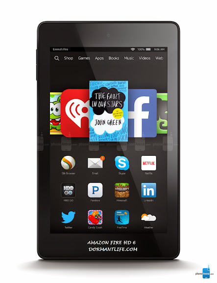 Amazon Fire HD 6 - Amazon Fire HD 6: Tablet Specifications And Price
